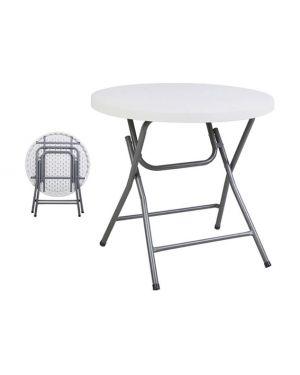 Πτυσσόμενο τραπέζι Catering  Φ80Χ74 εκ.