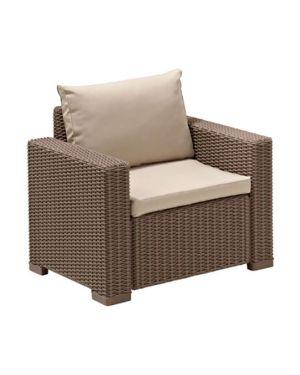Πολυθρόνα πολυπροπυλενίου California με μαξιλάρι