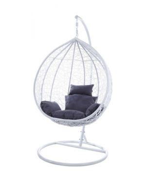 Κρεμαστή πολυθρόνα Nest 15 λευκή