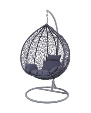 Κρεμαστή πολυθρόνα Nest 12 ανθρακί