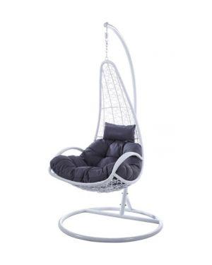 Κρεμαστή πολυθρόνα Nest 27 λευκή