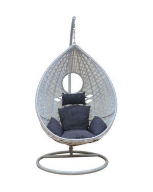 Κρεμαστή πολυθρόνα Nest 24 λευκή