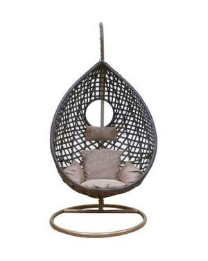 Κρεμαστή πολυθρόνα Nest 20 καφέ