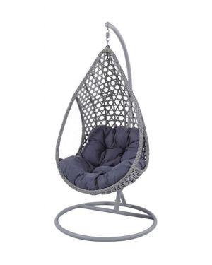 Κρεμαστή πολυθρόνα Nest 16 ανθρακί