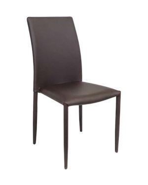 Καρέκλα μεταλλική Asley με δερματίνη