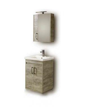 Σετ έπιπλο μπάνιου Savina 55