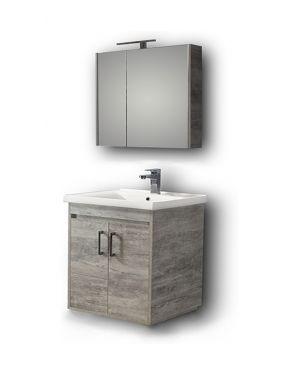 Σετ έπιπλο μπάνιου Savina 80