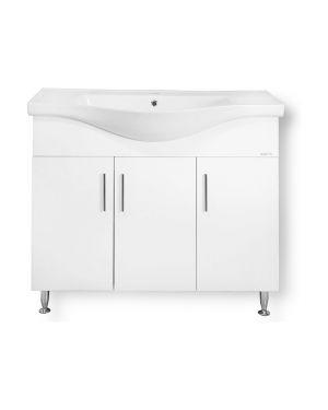 Πάγκος μπάνιου με νιπτήρα Siena 100