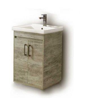 Πάγκος μπάνιου με νιπτήρα Savina 55