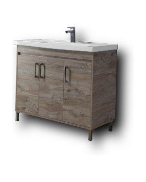Πάγκος μπάνιου με νιπτήρα Savina 100