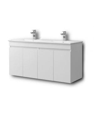 Κρεμαστός πάγκος μπάνιου με νιπτήρα Omega 120