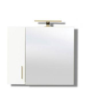 Καθρέπτης μπάνιου Siena 75