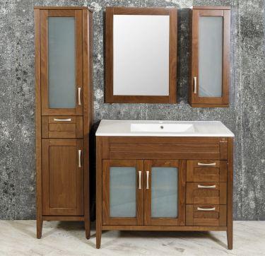 Σετ έπιπλο μπάνιου Aretousa 90