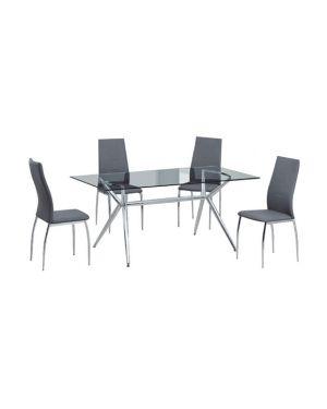 Τραπέζι Cameron με μεταλλικά πόδια