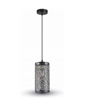 Μονόφωτο Φωτιστικό Μέταλλο με Matt Μαύρο σώμα
