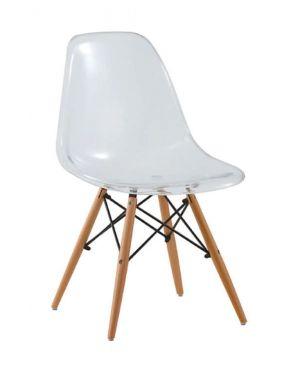 Καρέκλα Ξύλινη  Emily Clear