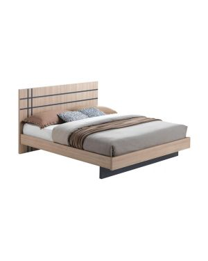 SUITE Κρεβάτι Διπλό Sonoma - Dark Grey