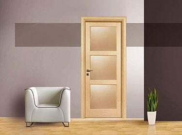 Πόρτα σειρά Plus Laminate: Σέμελη
