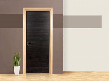 Πόρτα σειρά Luxury: Έβενος-Επίπεδη