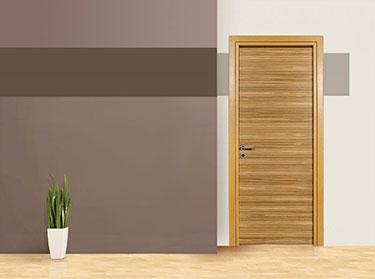 Πόρτα σειρά Luxury: Zebrano Brown