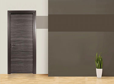 Πόρτα σειρά Luxury: Zebrano Grey
