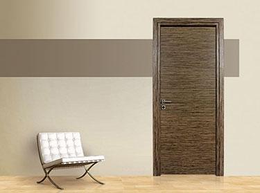 Πόρτα σειρά Luxury: Καρυδιά Ισόβενη, Επίπεδη