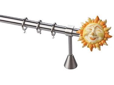 Μεταλλικό παιδικό κουρτινόξυλο Ήλιος