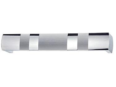Μετώπη αλουμινίου 7121 Ν/Ματ-Χρώμιο
