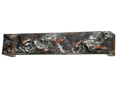 Μετώπη 7019 Ξύλινη χειροποίητη Μαύρο-Κόκκινο-Χρυσό