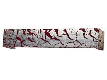 Μετώπη 1633 Ξύλινη Μ. Κόκκινο
