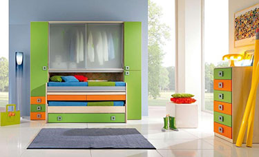 Σύνθεση παιδικού δωματίου OM 17 Post