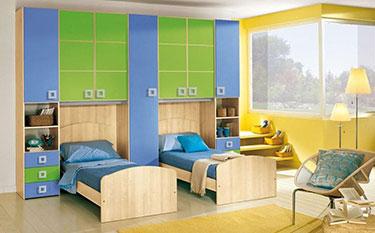 Σύνθεση παιδικού δωματίου OM 38