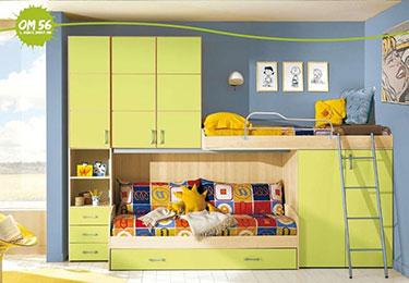 Σύνθεση παιδικού δωματίου OM 56