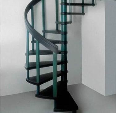 Ξύλινη σκάλα κυκλική: Κοχλίας
