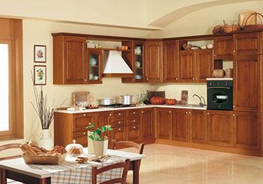 Σύνθεση κλασσικών επίπλων κουζίνας Mary