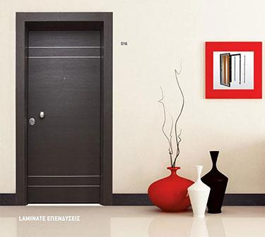 Θωρακισμένη πόρτα ασφαλείας D16