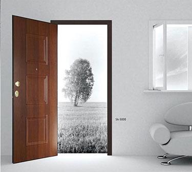 Θωρακισμένη πόρτα ασφαλείας SA-5000