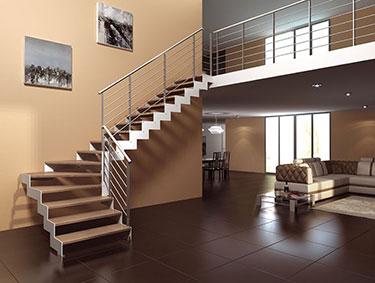 Μεταλλική σκάλα κρεμαστή 2