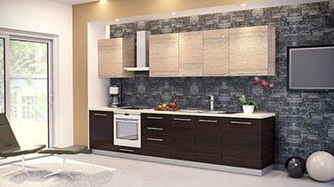 Σύνθεση μοντέρνων επίπλων κουζίνας mod. ART 01522