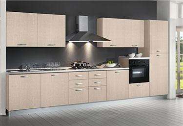 Σύνθεση μοντέρνων επίπλων κουζίνας mod. NEW SMART 01