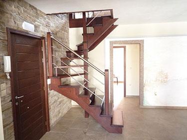 Ξύλινη σκάλα κρεμαστή 1