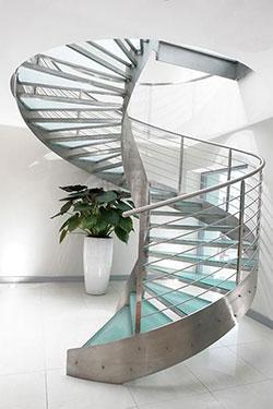 Μεταλλική Σκάλα Κυκλική 3