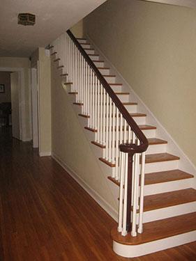 Ξύλινη επένδυση σκάλας 5