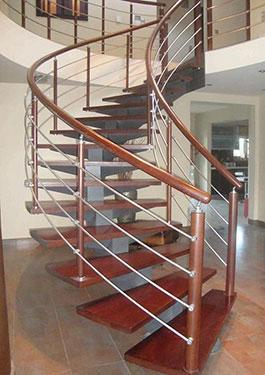 Μεταλλική σκάλα κρεμαστή 4