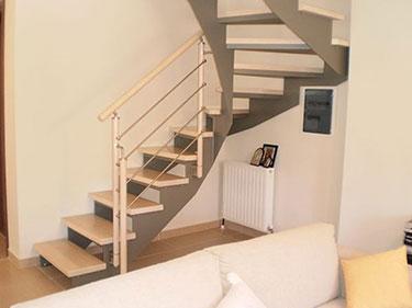 Ξύλινη σκάλα κρεμαστή ART 01050