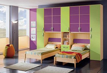 Σύνθεση παιδικού δωματίου EK 6