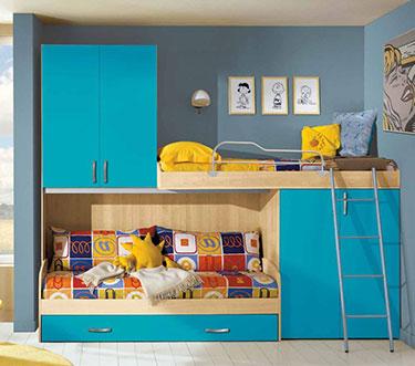 Σύνθεση παιδικού δωματίου EK 8