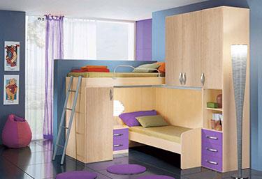 Σύνθεση παιδικού δωματίου EK 9