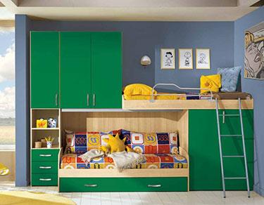Σύνθεση παιδικού δωματίου EK 11