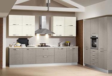 Σύνθεση μοντέρνων επίπλων κουζίνας mod. NEW SMART 04